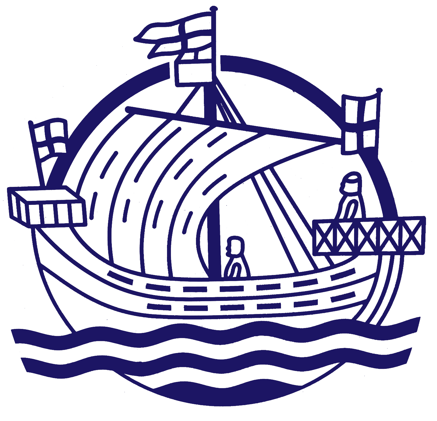 rye hospital boat logo