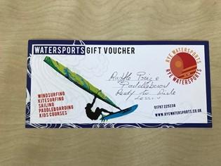 Rye Watersports voucher